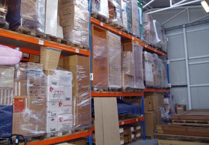 TRIV warehouse storage