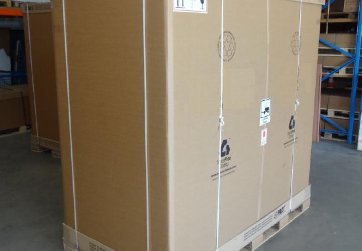 TRIV LCL crate 6 cbm LCL bedňa TRIV balenie