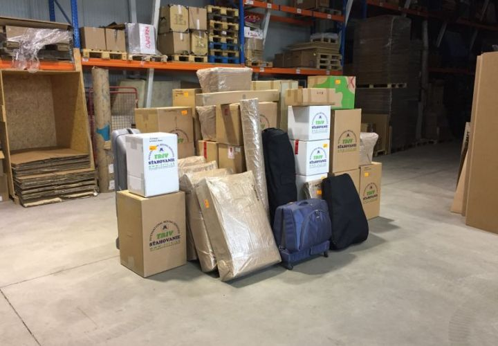 export packing TRIV moving