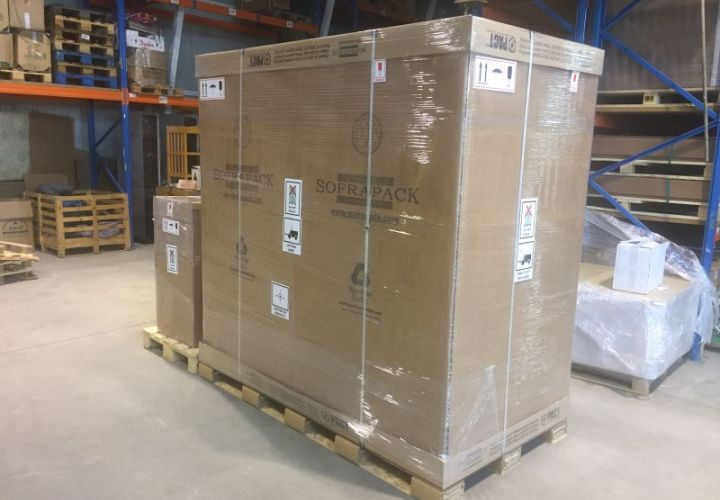 LCL crate moving to Slovakia