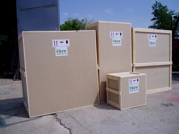 Exportné balenie do dreva