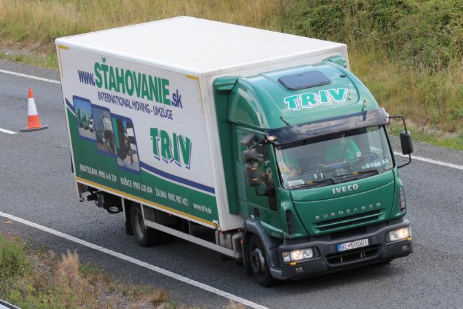 TRIV doprava do zahraničia, TRIV transport Slovakia